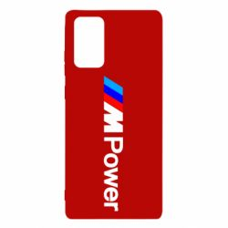 Чехол для Samsung Note 20 BMW M Power logo