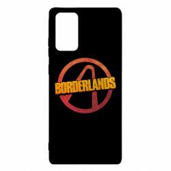 Чехол для Samsung Note 20 Borderlands logotype