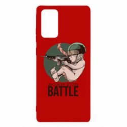 Чехол для Samsung Note 20 Born For Battle