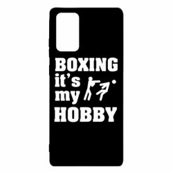 Чехол для Samsung Note 20 Boxing is my hobby