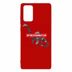 Чехол для Samsung Note 20 Brachiosaurus