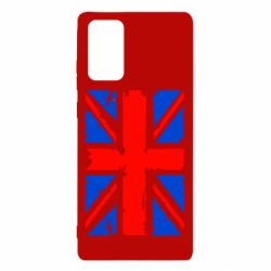 Чехол для Samsung Note 20 Британский флаг