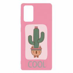 Чехол для Samsung Note 20 Cactus art