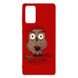 Чохол для Samsung Note 20 Caffeine Owl