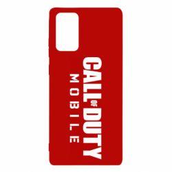 Чехол для Samsung Note 20 Call of Duty Mobile