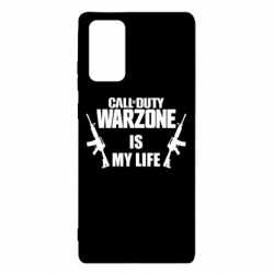 Чехол для Samsung Note 20 Call of duty warzone is my life M4A1