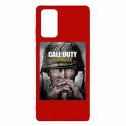 Чохол для Samsung Note 20 Call of Duty WW2 poster