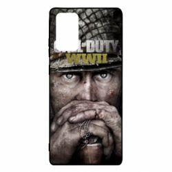 Чехол для Samsung Note 20 Call of Duty WWII