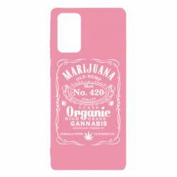 Чохол для Samsung Note 20 Cannabis label