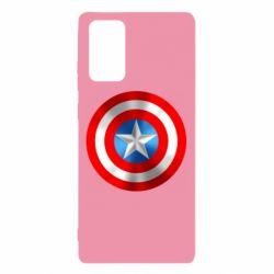 Чехол для Samsung Note 20 Captain America 3D Shield
