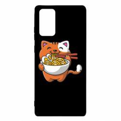 Чохол для Samsung Note 20 Cat and Ramen
