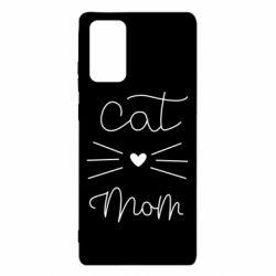 Чохол для Samsung Note 20 Cat mom