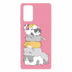 Чохол для Samsung Note 20 Cats