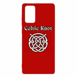 Чохол для Samsung Note 20 Celtic knot black and white