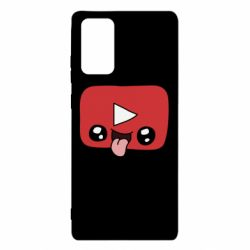 Чохол для Samsung Note 20 Cheerful YouTube
