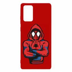 Чохол для Samsung Note 20 Людина павук в толстовці