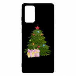 Чехол для Samsung Note 20 Christmas tree and gifts art