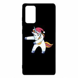 Чохол для Samsung Note 20 Christmas Unicorn