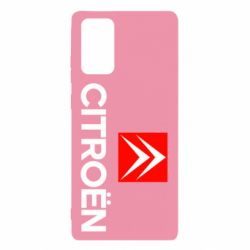 Чехол для Samsung Note 20 CITROEN 2