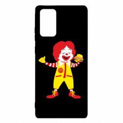 Чохол для Samsung Note 20 Clown McDonald's