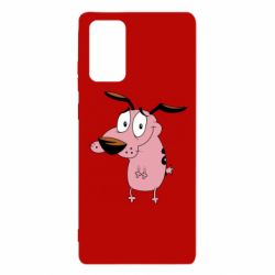 Чохол для Samsung Note 20 Courage - a cowardly dog
