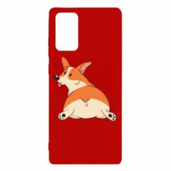 Чехол для Samsung Note 20 Cute corgi