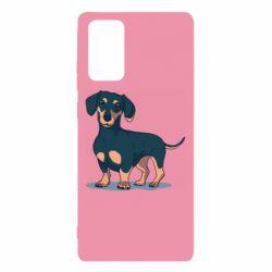 Чехол для Samsung Note 20 Cute dachshund