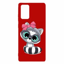 Чехол для Samsung Note 20 Cute raccoon