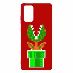 Чохол для Samsung Note 20 Квітка-людожер Супер Маріо