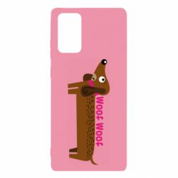 Чохол для Samsung Note 20 Dachshund and funny text