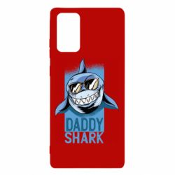 Чехол для Samsung Note 20 Daddy shark