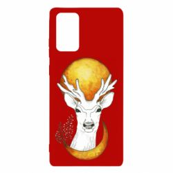Чехол для Samsung Note 20 Deer and moon