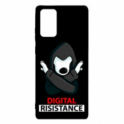 Чохол для Samsung Note 20 Digital Resistance