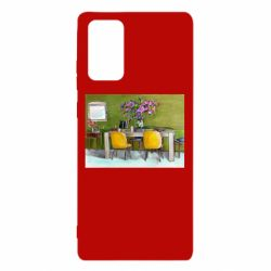 Чохол для Samsung Note 20 Dining table with flowers