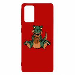 Чехол для Samsung Note 20 Dinosaur and basketball