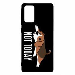 Чехол для Samsung Note 20 Dog not today