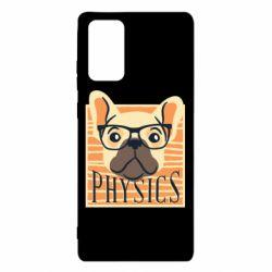 Чехол для Samsung Note 20 Dog Physicist