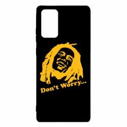 Чехол для Samsung Note 20 Don't Worry (Bob Marley)