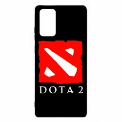 Чехол для Samsung Note 20 Dota 2 Big Logo