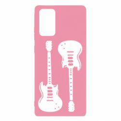 Чохол для Samsung Note 20 Дві гітари