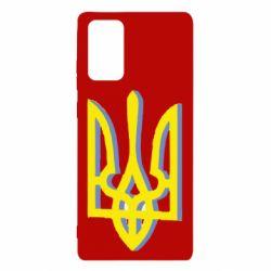Чехол для Samsung Note 20 Двокольоровий герб України