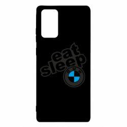 Чохол для Samsung Note 20 Eat, sleep, BMW