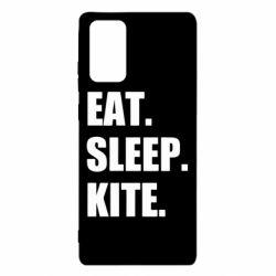 Чохол для Samsung Note 20 Eat, sleep, kite