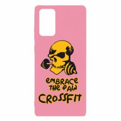 Чехол для Samsung Note 20 Embrace the pain. Crossfit
