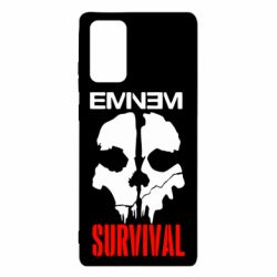 Чехол для Samsung Note 20 Eminem Survival