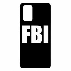 Чехол для Samsung Note 20 FBI (ФБР)