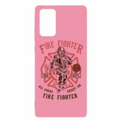Чохол для Samsung Note 20 Fire Fighter