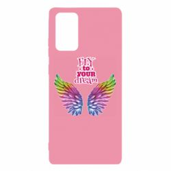 Чехол для Samsung Note 20 Fly to your dream