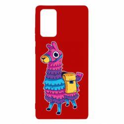 Чехол для Samsung Note 20 Fortnite colored llama