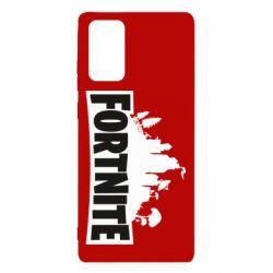 Чохол для Samsung Note 20 Fortnite logo